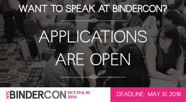 BinderCon Proposals