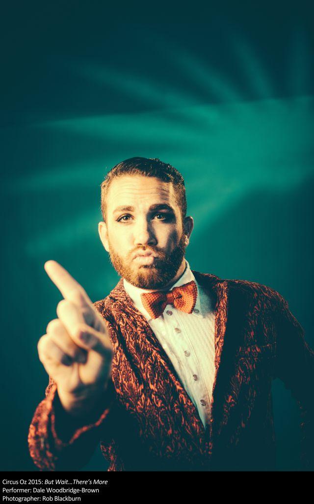 Dale Woodbridge-Brown of Circus OZ
