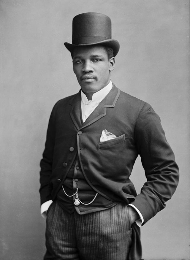 Peter Jackson in 1889