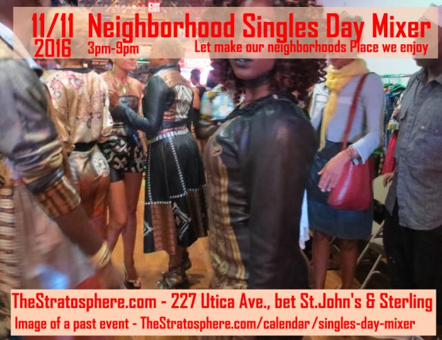 Neighborhood Singles day