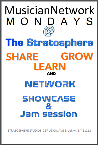 Musician Network weekly seminar/and jam sessions