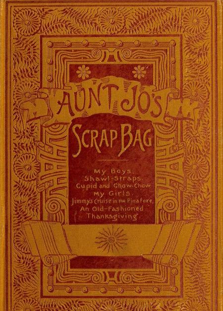 cover of Aunt Jo's Scrap Bag