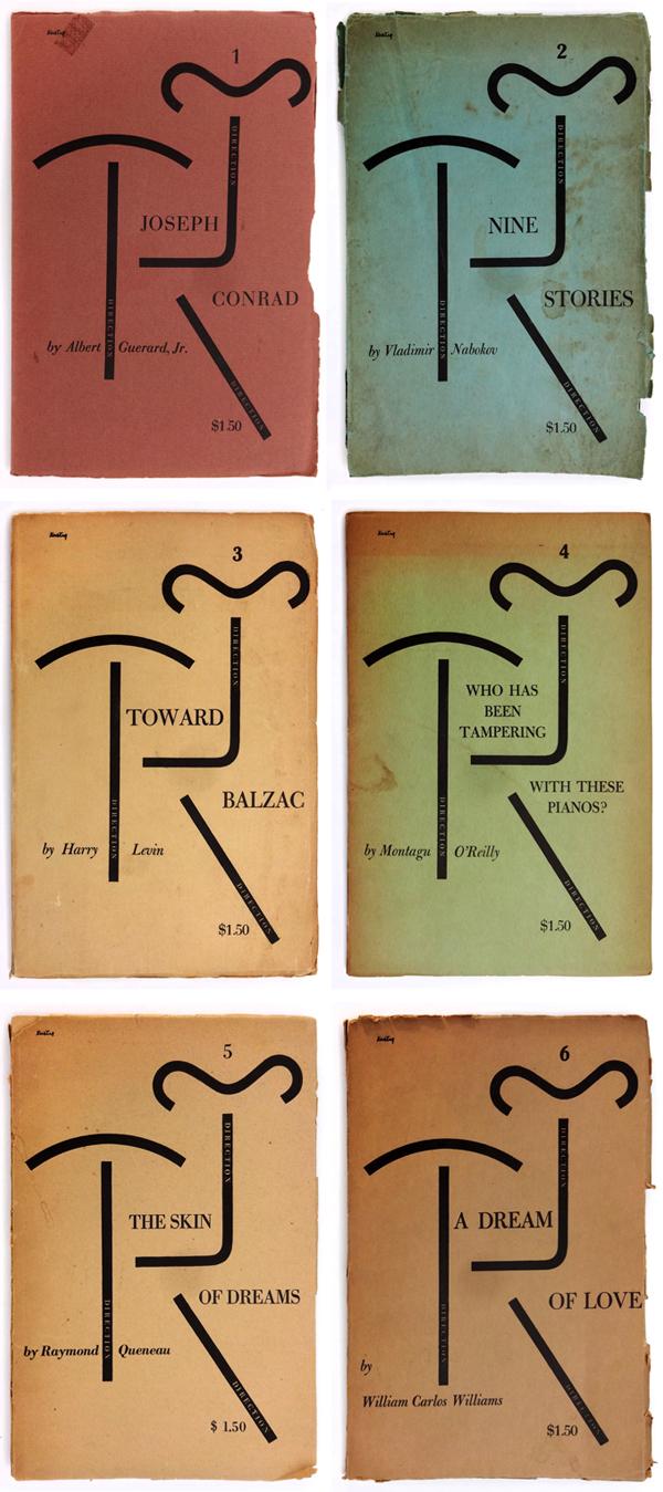 Direction series 1 through 6