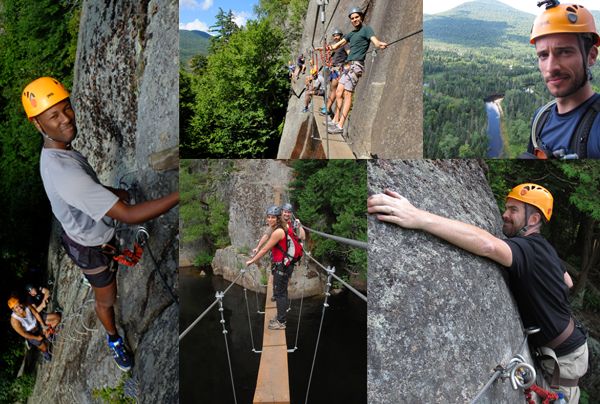 Via Ferrata Mont Tremblant