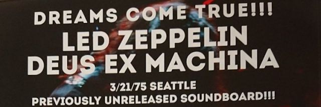 Empress Valley Led Zeppelin Seattle