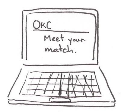 OkCupid mock