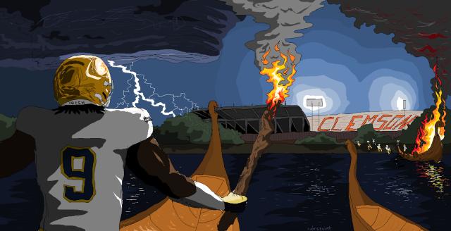 burn the damn boats