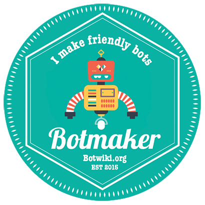 Botmaker Badge