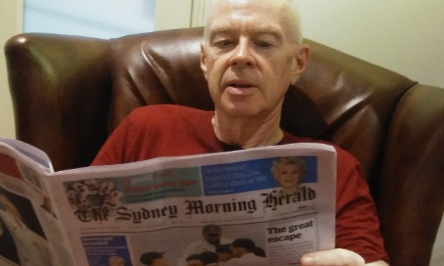 Reading the Sydney Morning Herald print edition
