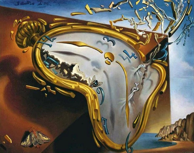 Salvador Dali The Melting Watch 1954