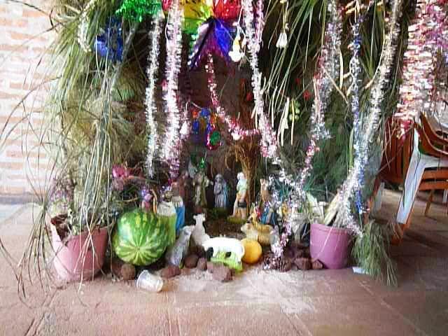 Nativity scene in Encarnacion Paraguay
