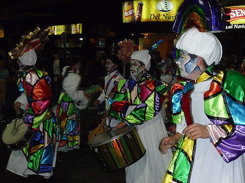 December Mardi Gras in Montevideo Uruguay