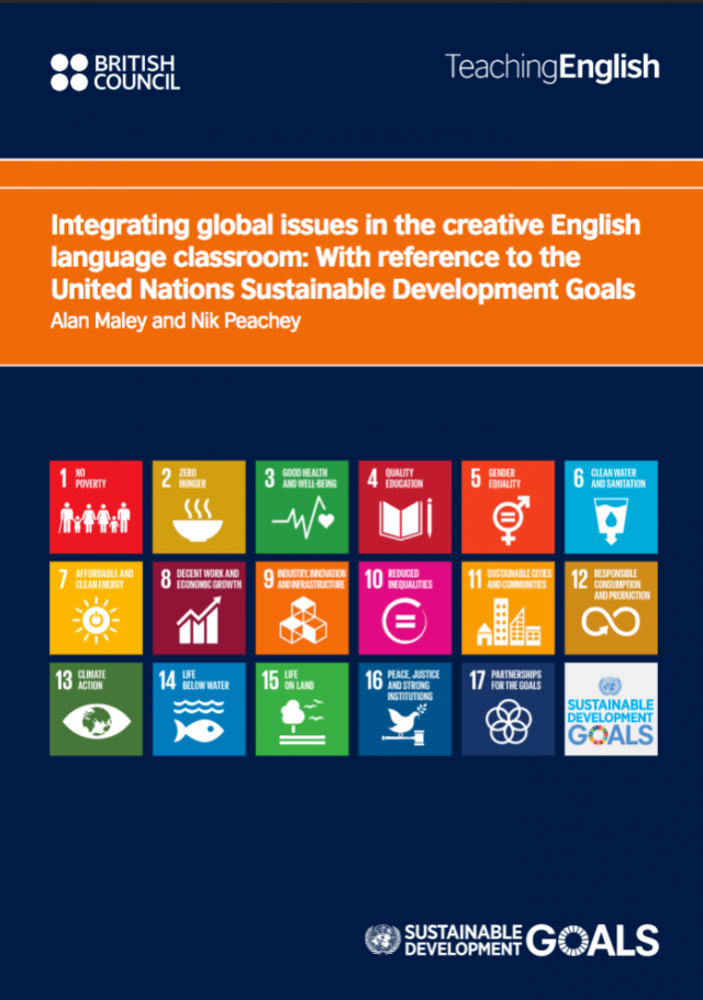 Integrating global issues in the creative English language classroom