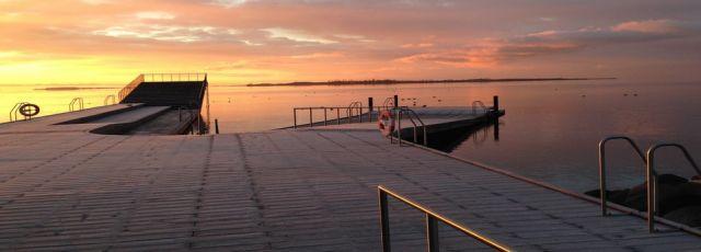 Faaborg havnebad. Foto: Klintevikingerne
