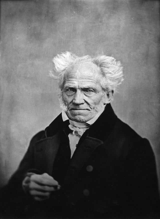 Schopenhauer. Foto: Wikipedia