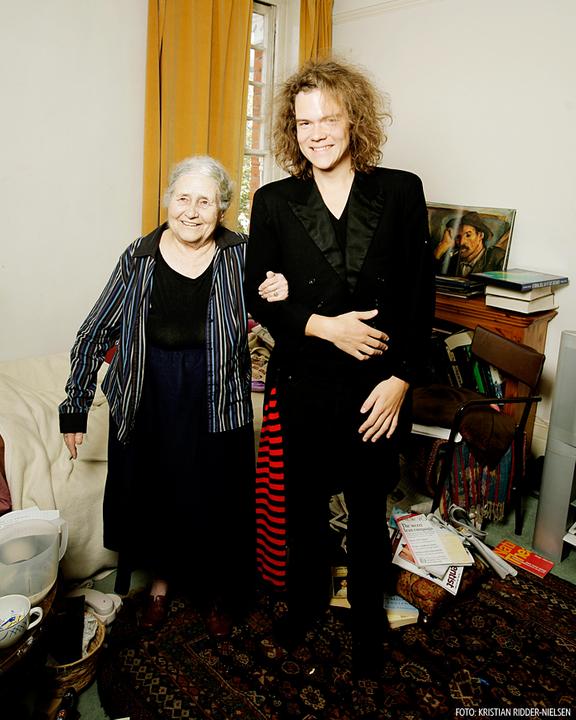 Doris Lessing. Foto: Kristian Ridder-Nielsen