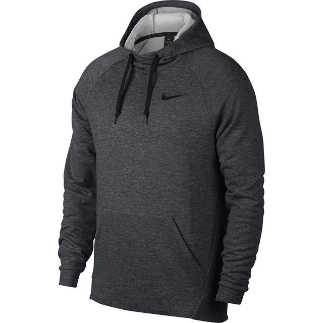 Gray Nike Dry Training Hoodie