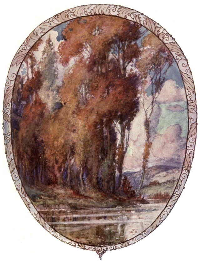 "Illustration for ""To Autumn"" by William James Neatby, from A Day with Keats, 1899"