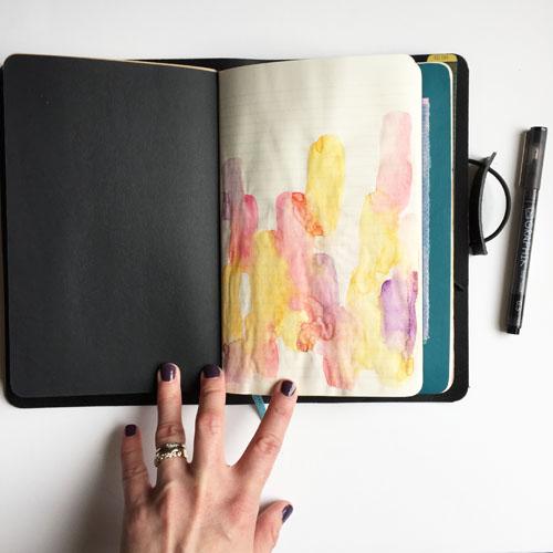 inkDori Bullet Journal Pages   watercolor bullet journaling examples   Grace & Salt ink