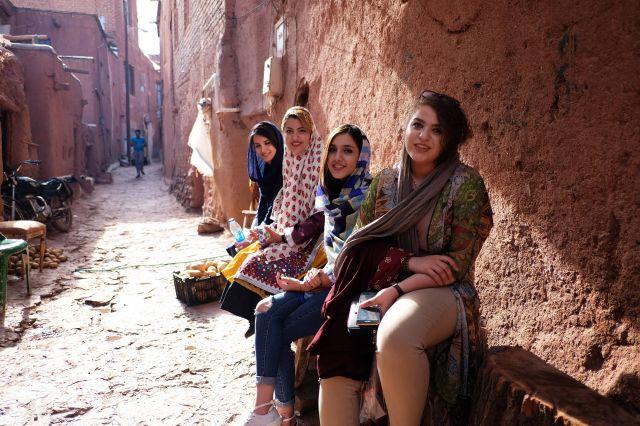 ragazze Abianeh, Iran