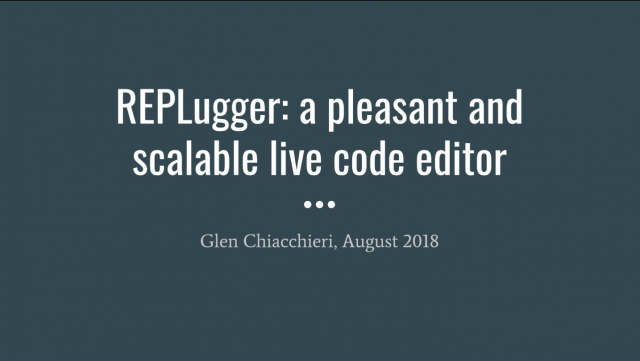 REPLugger demo screenshot
