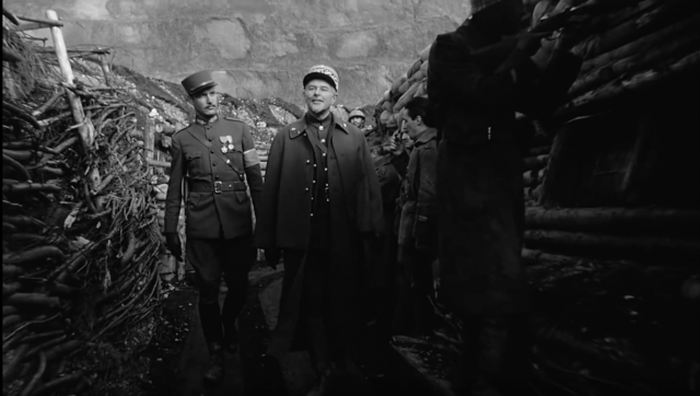 """Still from """"Paths of Glory"""""""