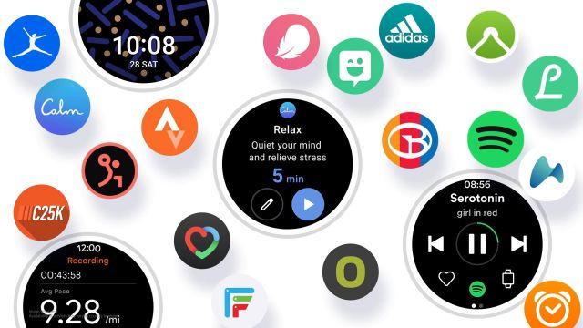 One UI smartwatch faces