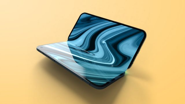 Rumored foldable iPhone