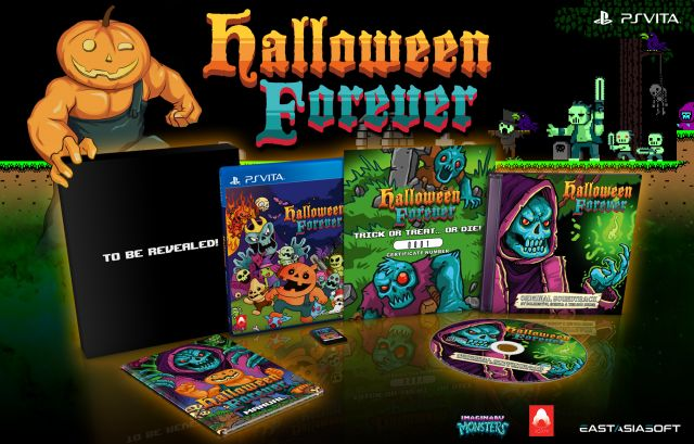 Halloween Forever on PlayAsia, available October 29th